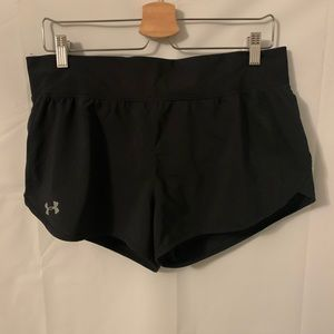Under Armour Black Running Shorts Size L